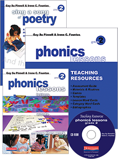 Phonics Lessons with CD-ROM and Poetry BUNDLE, Grade 2 cover