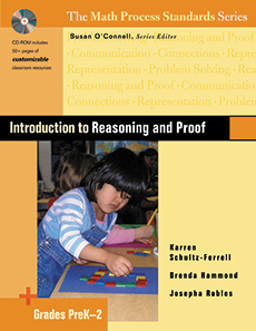 Introduction to Reasoning and Proof, Grades PreK-2 cover