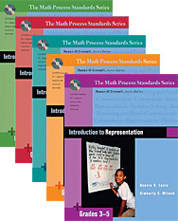 Math Process Standards Series, Grades 3-5 cover