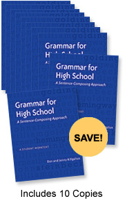 Learn more aboutGrammar for High School, Ten-Pack