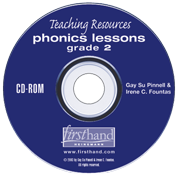 Phonics Lessons: Teaching Resources CD-ROM: Grade 2