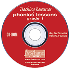 Phonics Lessons: Teaching Resources CD-ROM: Grade 1