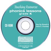 Phonics Lessons: Teaching Resources CD-ROM: Grade K