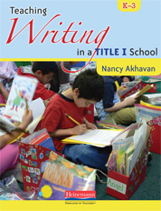 Teaching Writing in a Title I School, K-3 cover