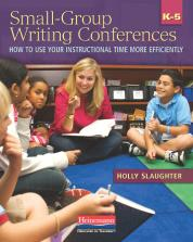 Small-Group Writing Conferences, K-5 cover