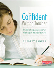 The Confident Writing Teacher cover