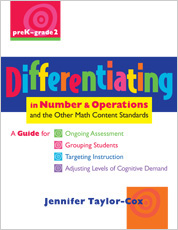 Differentiating in Number & Operations cover