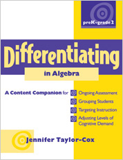 Differentiating in Algebra, PreK-Grade 2