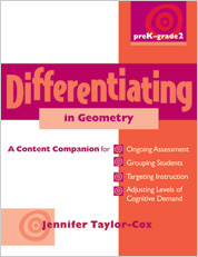 Differentiating in Geometry, PreK-Grade 2