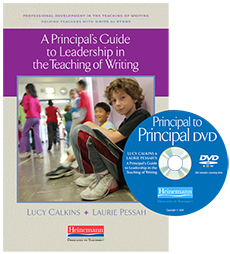 A Principal's Guide to Leadership in the Teaching of Writing cover