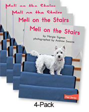 Meli on the Stairs (Green System)