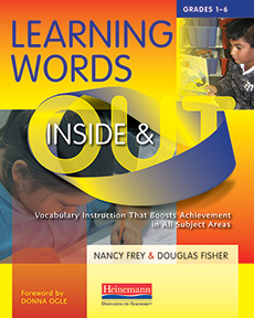 Learning Words Inside and Out, Grades 1-6 cover
