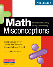Math Misconceptions, PreK-Grade 5 cover