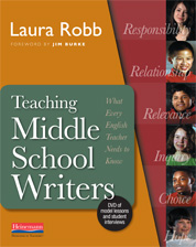 Teaching Middle School Writers cover