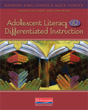 Adolescent Literacy and Differentiated Instruction cover
