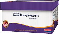 Fountas & Pinnell Leveled Literacy Intervention (LLI) Purple System cover