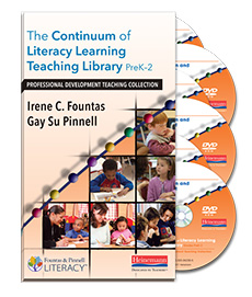 The Continuum of Literacy Learning Teaching Library
