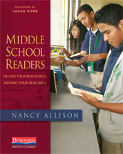 Middle School Readers cover