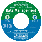 F&P Benchmark Assessment System Data Management CD-ROM