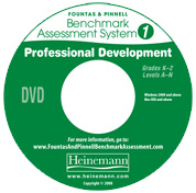 F&P Benchmark Assessment System 1 Professional Development DVD