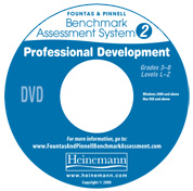 F&P Benchmark Assessment System 2 Professional Development DVD