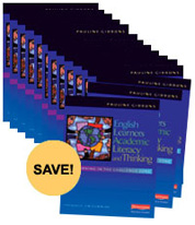 English Learners, Academic Literacy, and Thinking PLC Bundle Pack cover