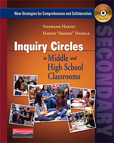 Inquiry Circles in Middle and High School Classrooms (DVD) cover