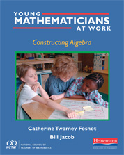 Young Mathematicians at Work: Constructing Algebra cover