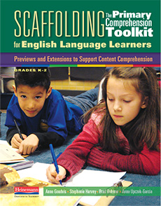 Scaffolding The Primary Comprehension Toolkit for English Language Learners cover