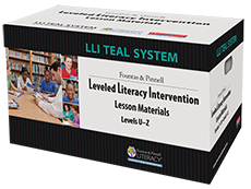 Fountas & Pinnell Leveled Literacy Intervention (Grades 6-12) TEAL
