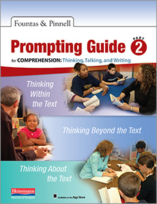 Fountas & Pinnell Prompting Guide Part 2 for Comprehension