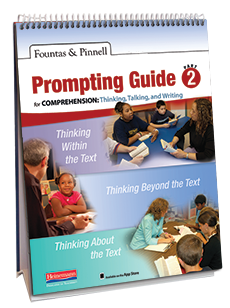 Fountas & Pinnell Prompting Guide, Part 2 for Comprehension