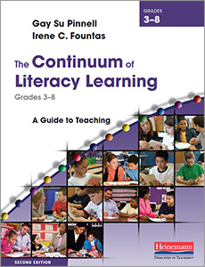 The Continuum of Literacy Learning, Grades 3-8, Second Edition