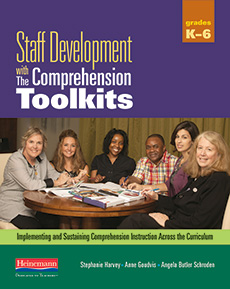 Staff Development with The Comprehension Toolkits cover