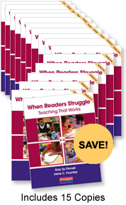 When Readers Struggle Book Study Bundle Pack