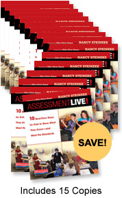 Assessment Live! Book Study Bundle