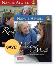 Nancie Atwell DVD Bundle cover