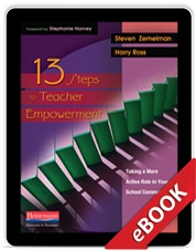 Learn more about13 Steps to Teacher Empowerment (eBook)