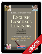 Learn more aboutLiteracy Instructions for English Language Learners (eBook)