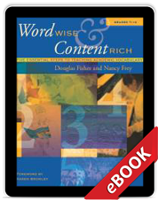 Word wise content rich grades 7 12 ebook by douglas fisher nancy word wise content rich grades 7 12 ebook fandeluxe Gallery