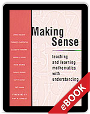 Learn more aboutMaking Sense (eBook)