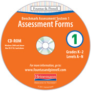 Benchmark Assessment System 1, 2nd Edition Forms CD-ROM