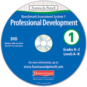 Benchmark Assessment System 1, 2nd Edition Professional Development DVD