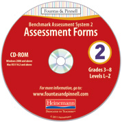 Benchmark Assessment System 2, 2nd Edition Forms CD-ROM
