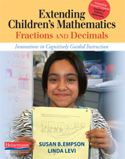 Extending Children's Mathematics: Fractions & Decimals cover