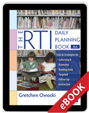 RTI Daily Planning Book K-6 (eBook)