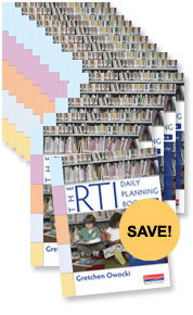 RTI Daily Planning Book Book Study Bundle