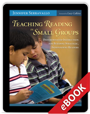 Learn more aboutTeaching Reading in Small Groups (eBook)