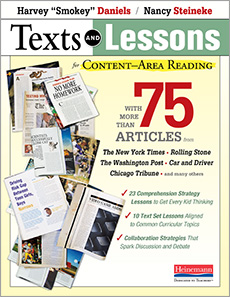 Texts and Lessons for Content-Area Reading cover