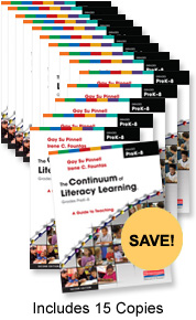 The Continuum of Literacy Learning PreK-8 Book Study Bundle